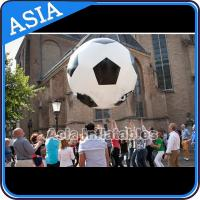 Buy cheap Football Helium Balloon And Blimps , Soccer Advertising Ball Inflatable Sports from wholesalers