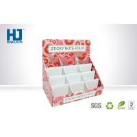 Buy cheap 250G CCNB Corrugated Paper Counter Display Box With Inside Card For Sticky Note from wholesalers