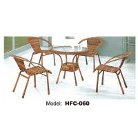 Buy cheap Wrought iron table and chairs perspex dining table and chairs from wholesalers
