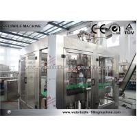 Buy cheap 1000 Ml Soft Drink Bottling Equipment 3- In -1 Rinsing Filling Capping Machine from wholesalers