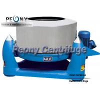 Buy cheap Three Footed Manual Top Discharge Basket Centrifuge Batch Operate Food Centrifuge Machine from wholesalers