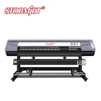 Buy cheap Double CMYK 1.8m 3200dpi Commercial Poster Printer Machine from wholesalers