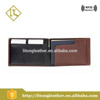 Buy cheap cow leather wallet wholesale travel passport holders slim wallet with business card holder, pen, sim card holder from wholesalers