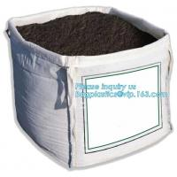 Buy cheap pp woven big fibc jumbo bag for coal cement,100% Virgin Material pp woven bulk bag 1000kg-3000kg,FIBC Recycle Container from wholesalers