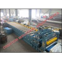 Buy cheap Pre painted Iron Roof Panel Roll Forming Machine / Roof Tile Making Machine from wholesalers