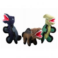 Buy cheap Green Dinosaurs Design Cute Little Stuffed Animals , Plush Christmas Ornaments from wholesalers