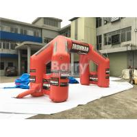 Buy cheap Custom Inflatable Advertising Products Giant Welcome Start Finish Line Inflatable Entrance Arch product