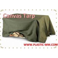 Buy cheap Heavy Duty Waterproof  Canvas Fabric  Canvas Tarpaulin Canvas Tarp from wholesalers