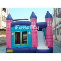Buy cheap Customizable Size Kids Bounce And Slide Inflatable Bouncer 3 - 5 Years Lifespan from wholesalers