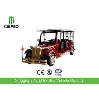 Buy cheap Electric Powered Vintage 8 Person Golf Cart Tour Bus With 48V DC Motor from wholesalers