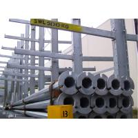 Buy cheap Industrial Long Pipe Cantilever Storage Rack Adjustable Multilayer Custom Size from wholesalers