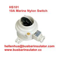 Buy cheap 10A marine nylon boat accessories HS101 boat switch marine watering switch from wholesalers