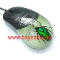 Buy cheap real insect in resin optical computer mouse,gift mouse,novel mouse from wholesalers