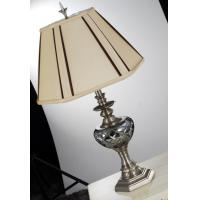 Buy cheap Energy saving / LED 120V / 220V art deco table lamps with copper polishing from wholesalers