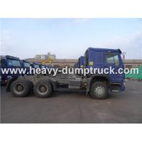 Buy cheap Sinotruk HOWO 336 HP Euro II Tractor Truck for pulling drop deck trailer from wholesalers