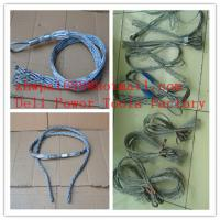Buy cheap Pulling grip,Support grip  Non-conductive cable sock from wholesalers