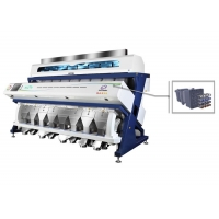 Buy cheap Adjustable Light Source 28t/H CCD Rice Grain Colour Sorter Machine from wholesalers