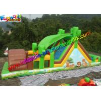 Buy cheap Outdoor inflatable assault course , backyard obstacle course inflatable from wholesalers