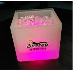 Buy cheap 3.5 L LED ice bucket Ice cube barrels transparent plastic ice bucket new strange ice bucke from wholesalers