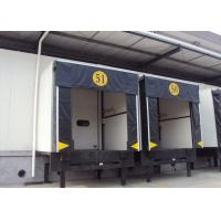 Buy cheap Customized industrial dock shelter with rain channel device on roof cover from wholesalers