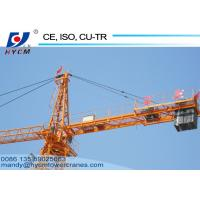 Buy cheap 8 ton 60m Jib Hammerhead Tower Crane Overhead Construction Equipment QTZ6010 from wholesalers