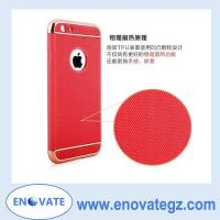 China Electroplate TPU three combo/three in one case for iphone 5 / 6 / 6plus on sale