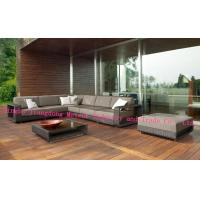 Buy cheap MTC-195 Garden Deluxe Rattan high luxury sofa sets – Brown & Cream And Black & Pale Grey Available from wholesalers