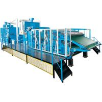 Buy cheap Fiber Processing / Nonwoven Cotton Carding Machine High Performance Dust Collection System from wholesalers