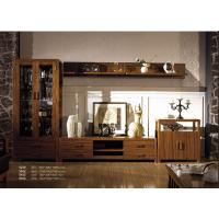 Buy cheap Foshan furniture latest Wooden floor cabinet set/ TV stand/wine cabinet set from wholesalers