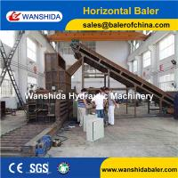 Buy cheap WANSHIDA Horizontal Plastic films plastic bottles  waste Cardbaords paper Balers Baling Press Compactor from wholesalers