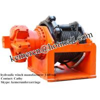Buy cheap free fall hydraulic winch manufacturer from wholesalers