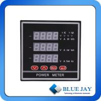 Buy cheap Three phase Electric energy meter watt-hour meter and smart meter with multifunction from wholesalers