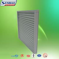 Buy cheap Washable Replaceable G3 / G4 Pleat Panel Prefilter For HVAC Systems from wholesalers