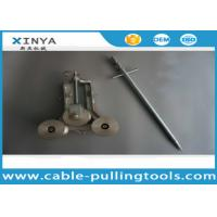 Buy cheap SJL-100 Cable Pulling Tools , Casting Aluminum Grounding Pulley from wholesalers