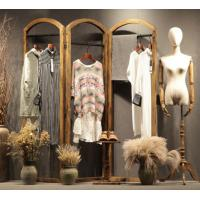 Buy cheap Retail Store Clothing Display Furniture Wooden Cloth Hanger Stand Various Style from wholesalers