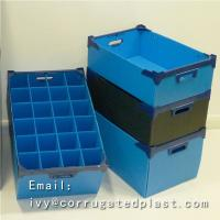 Buy cheap Eco-friendly PP Plastic Handles Corrugated Boxes recycled & durable printing available from wholesalers