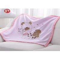 Buy cheap Newborn Thick Warm Baby Blanket With 2 Layers Super Soft Knitted Animal Pattern ECO from wholesalers