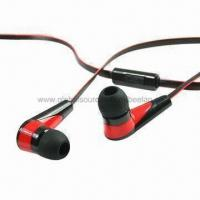Buy cheap Plastic Earphones for iPhone 4/4S, with Two-tone Color Earbuds and Cables from wholesalers