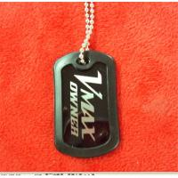 Buy cheap Epoxy dome metal dog tags, branded logo promotional gift dog tags, customized dog tags, from wholesalers