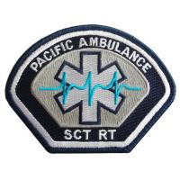 Buy cheap Pacific Ambulance Embroidery Patch&Badge from wholesalers