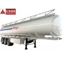 Buy cheap Special Design Beam Fuel Tank Trailer Eco - Friendly Mechanical Suspension from wholesalers