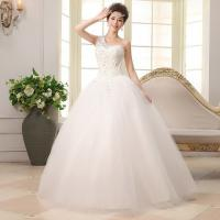 Buy cheap 2014 Popular white Organza one shoulder Asymmetric Princess Ball Gown, wedding dress ,wedding gown,bridal dress from wholesalers