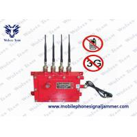 Buy cheap Oil Depot Cell Phone Blocking Device GSM CDMA DCS 3G In Water Resistant Blaster Shelter from wholesalers