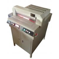 Buy cheap Auto Number Control Electric Guillotine Paper Cutter 450mm Cutting Size from wholesalers