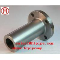 Buy cheap ASTM B564 UNS N04400  UNS N06600 nickel alloy forged long WN  flange ASME B16.5 from wholesalers