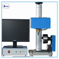 Buy cheap Rotary dot pin marking machine,round product air marking machine from wholesalers