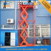 Buy cheap Stainless Steel Stationary Hydraulic Scissor Lift , Stationary Scissor Lift Platforms from wholesalers