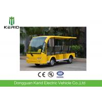 Buy cheap Battery Operated 4 Wheel Electric Shuttle Bus 48V Motor Suits For Public Area Transportation from wholesalers