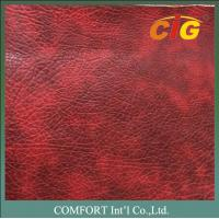 Buy cheap 0.8mm 1.2mm Printed PVC Synthetic Leather Material For Sofa / Auto Seat product