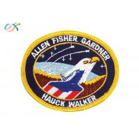Buy cheap Custom Eagle Air Force US Navy Iron On Patches , Custom Military Patches For Garment from wholesalers